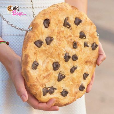 CHOCOLATE CHIP COOKIE PURSE / CLUTCH