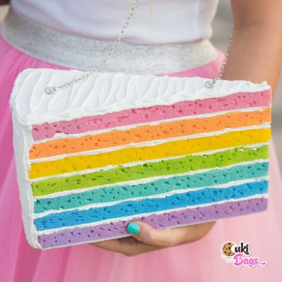 RAINBOW PIECE OF CAKE PURSE / BAG