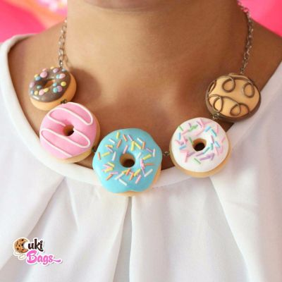 Perfect combo donut bundle necklace