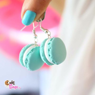MINTY MACARONS EARRINGS