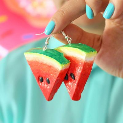 WATERMELON SLICES EARRINGS