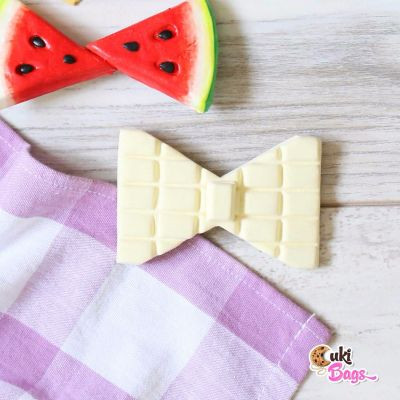 White Chocolate BOW TIE