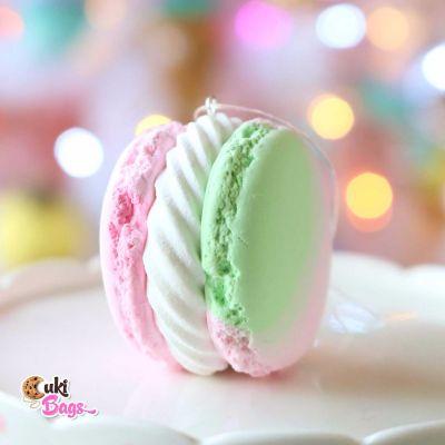 Faux pastel Macaron Ornament