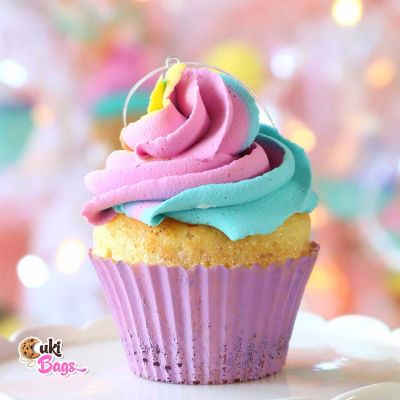 Faux Purple - Rainbow Cupcake PROP