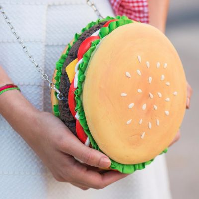 HAMBURGER PURSE / CLUTCH / BAG