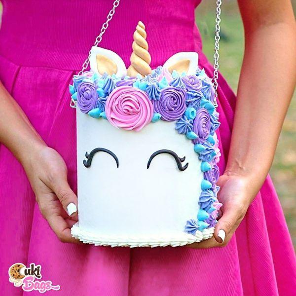 UNICORN CAKE BAG PURSE