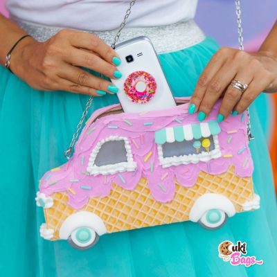 Ice Cream Truck  Purse / Fanny Pack