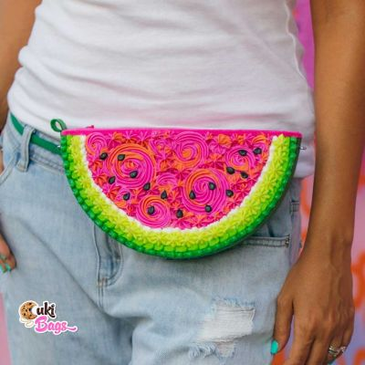Watermelon Slice Cake Fanny Pack / Purse