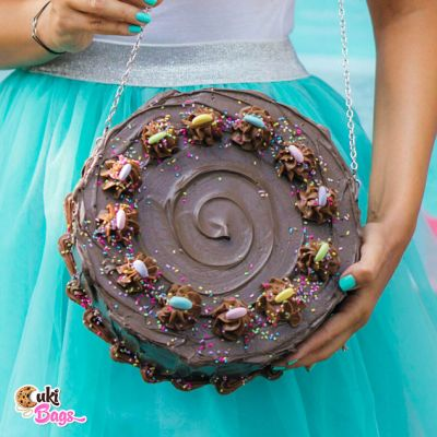Chocolate Dream Cake Purse / Bag