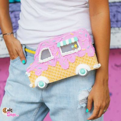 Ice Cream Truck Fanny Pack / Purse