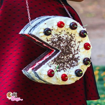 BLACK FOREST NAKED CAKE PURSE