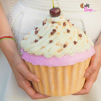 MISS CHERRY CUPCAKE CLUTCH / BAG