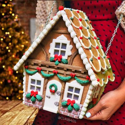 "Gingerbread House ""Cottage"" BAG"