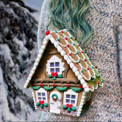 "Gingerbread House ""Cottage"" BACKPACK"