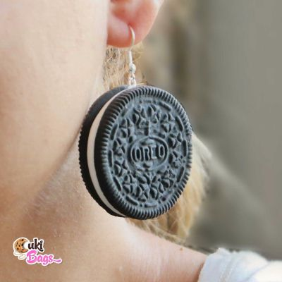 XXL OREO Earrings