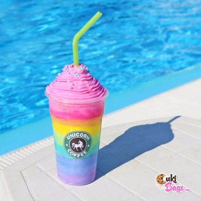 Rainbow Unicorn Frozen Coffee