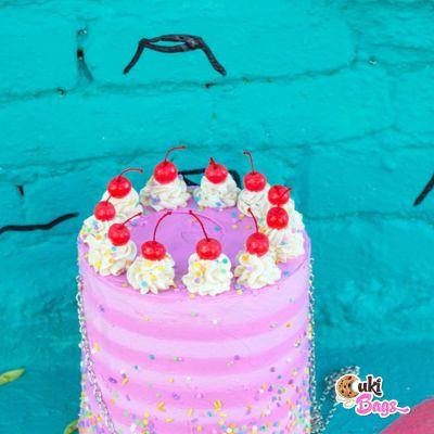 Strawberry Birthday CAKE PURSE