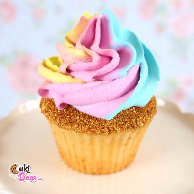 Faux Rainbow Cupcake PROP