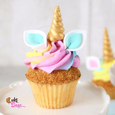 Faux Unicorn Rainbow Cupcake PROP