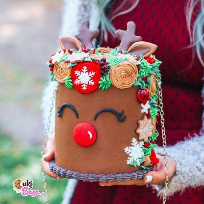 Reindeer Cake PURSE