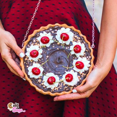 CHOCOLATE CHERRY TART BAG