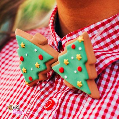 Christmas Tree BOW TIE / PIN